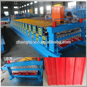 Color Steel Ibr Roof Sheet Roll Forming Machine pictures & photos