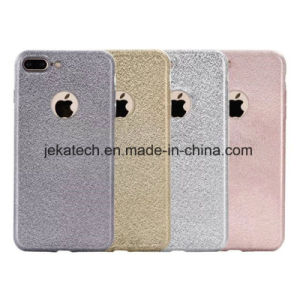 Electroplate Silk Grain TPU Case for iPhone 7 pictures & photos