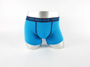 High Quality Male Blue Boxer Briefs