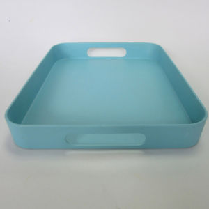 Bamboo Fiber Tray Rectangle Solid Color Tableware pictures & photos