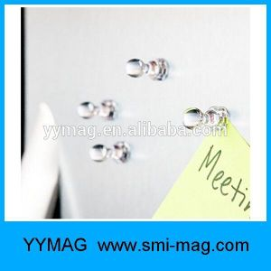 Clear Office Magnets Memo Magnets Magnetic Push Pins pictures & photos