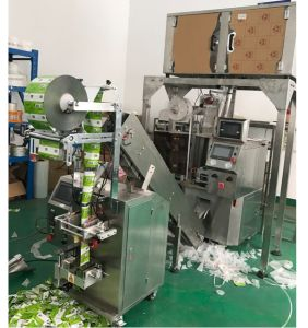 Triangle Nylon Filter Teabag Ultrasound Sealing Packaging Machine pictures & photos