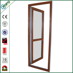Plastic Frame Double Glass Casement Doors Custom pictures & photos