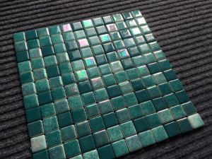 Luxurious Full Body Green Glassic Mosaic for Swimming Pool pictures & photos