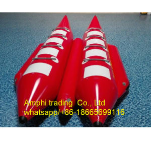 PVC Material 3 Person Inflatable Boat/Banana Boat for Sale pictures & photos