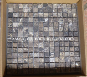 Dark Emperador Marble Mosaic Tiles for Floor and Wall pictures & photos