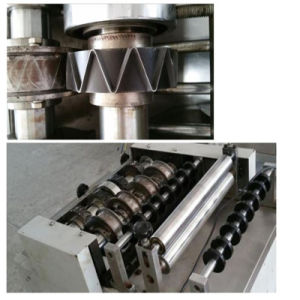 Close Cone Processling Line with Twin Screw Extruder pictures & photos