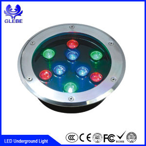 Waterproof Round Dia 300xh100mm 24W Outdoor LED Underground Light pictures & photos