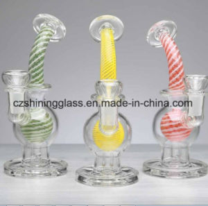 Colorful Inner Perc Eggs Smoking Pipe DAB Oil Rig pictures & photos