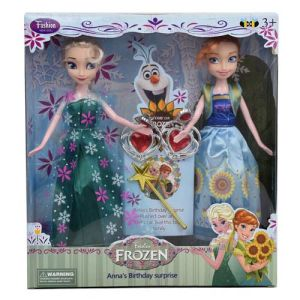 9 Inches Joins Moveable Toy Frozen Doll with Accessories 10271365 pictures & photos
