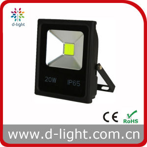High Quality Outdoor Use 85-265V IP65 COB Chip 20W LED Floodlight pictures & photos
