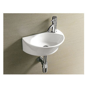Cupc Approve Ceramics Wall Hung Basin for Hospital Use pictures & photos
