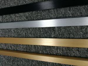 Cusotmized Brushed Natural Anodised Aluminum/Aluminium Extruded/Extrusion Pipe pictures & photos