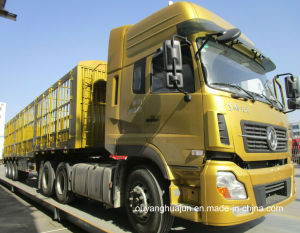Weight: 17.3t, L: 13 Meters Warehouse Column Semitrailer pictures & photos