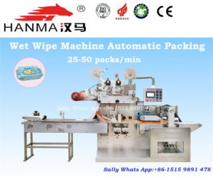 Wet Tissue Packing Machine for Baby Wipes