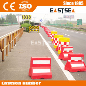 Polythene Plastic Water Fill Parking Barrier pictures & photos