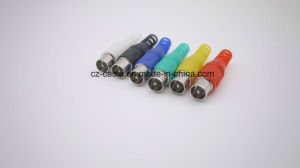 9.5mm Male TV Connector with Cable Protection pictures & photos