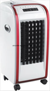 Low Noise Household Evaporative Air Cooler with Heating
