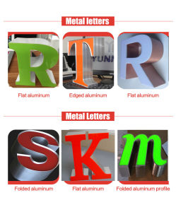 Channel Letter Sheets Aluminium Profile pictures & photos