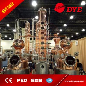 Vodka, Gin, Whiskey Distillery Alcohol Distillation Equipment Alcohol Distiller for Sale pictures & photos