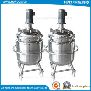 Stainless Steel Mobile Mixing Tank for Chocolate pictures & photos