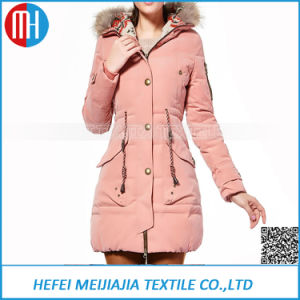 Women Duck Down Jacket Long Coat pictures & photos