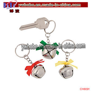 Party Supplies Christmas Ornament Accessories Jingle Bell Key Chains (CH8091) pictures & photos