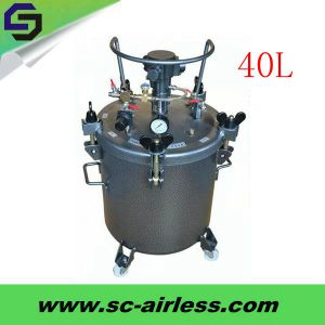 Hot Sale Painting Tool 40L Pressure Paint Tank for Oil Paint pictures & photos