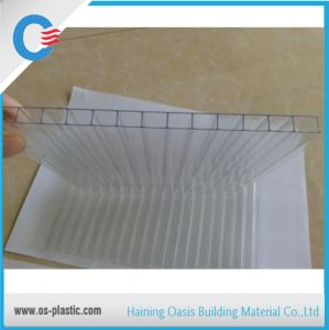 6mm Polycarbonate Plastic Lexan Sheeting Hollow Twin Wall Polycarbonate Sun Sheet pictures & photos
