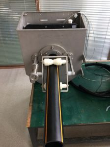 Measuring Thickness Auxiliary for Plastic Pipe Line pictures & photos