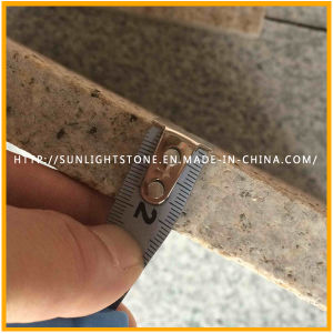 China Flamed G682 Yellow Rusty/Sunset Gold Granite Flooring Tiles pictures & photos