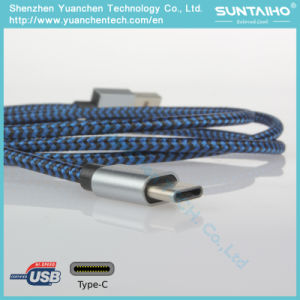 Nylon Braided USB to Type C Charger Cable pictures & photos