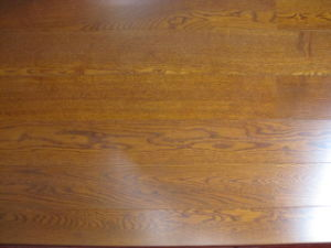 Oak Flooring Stained Yellow Color