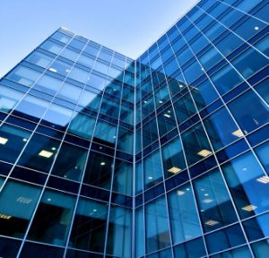 Curtain Wall Low E Insulated Glass for Construction (JINBO) pictures & photos