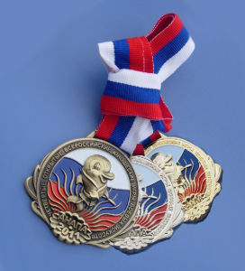 Custom Kids Medals with Ribbon (ASNY-JL-ME-081607) pictures & photos