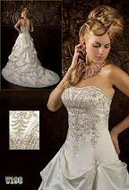 Wedding Gown (W083) pictures & photos
