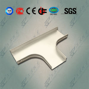 Tee Used in Groove Type Cable Tray pictures & photos