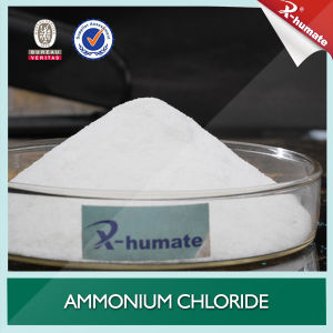 Colorless Crystal or White Crystal Powder Ammonium Chloride 99.5%Min pictures & photos