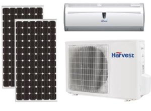 off-Grid Pure Solar Air Conditioner, No Grid Power Required for 15 Hours Operation Per Day