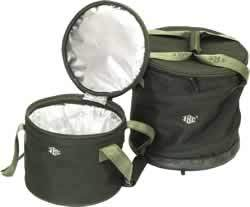 Foldable Canvas Exterior with Foil Lining Bucket Tote Cooler Bag (MS3033) pictures & photos