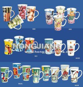 Porcelain Mug (HJ001343338) pictures & photos