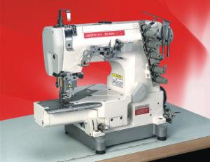 High-Speed Small Flat Bed Interlock Sewing Machine (ZG664-01CB)