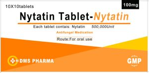 Nystatin Human Medicine for Antimycotic Polyene Antibiotic Tablet pictures & photos