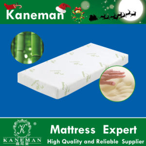 Bedding Memory Foam Mattress Topper Bamboo Fabric Cover pictures & photos