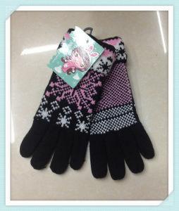 Warm Fashion Knitted Gloves - Wf013