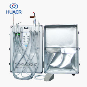 Best Portable Dental Unit with Air Compressor Dental Equipment pictures & photos