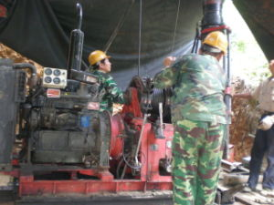 Portable Water Drill Rig (HGY-300)
