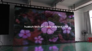 Soft & Flexible LED Display for Backdrop of Show & Concert pictures & photos