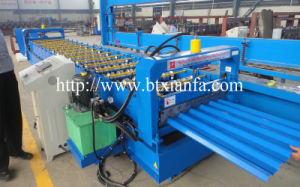 Color Steel Trapezoidal Roof Panel Roll Forming Machine