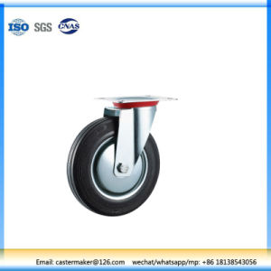 Industrial Black Rubber Swivel Caster pictures & photos